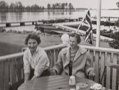 Amorina Bartholsson och Marianne Bengtsson Bokagård