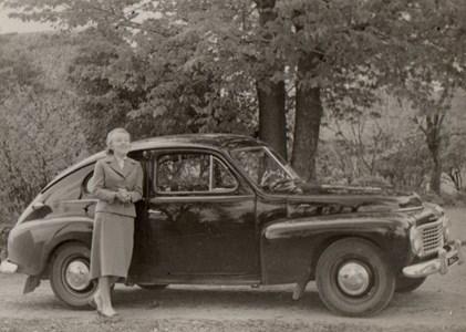 Familjens Volvo PV 1954