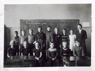 Solviks skola, Arvika 1940