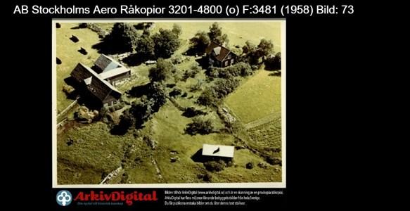 Älgås 1959 flygfoto