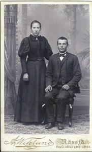 Anna Sandstedt och Frans Andersson