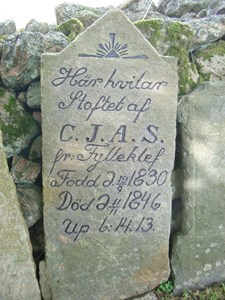 Carl Johan Andersson, Fylleklev 103, Askome