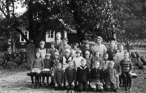 Askome 520 Gamla skolan, år 1930