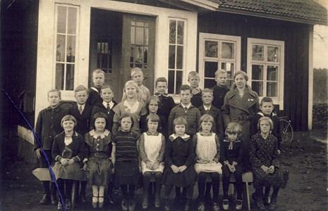 Skärvereds skola 1933
