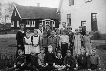 Askome 502 Gamla skolan, år 1933