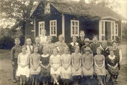 Skärvereds skola i Askome 1936