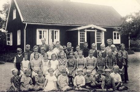 Askome 502, Gamla skolan, år 1939