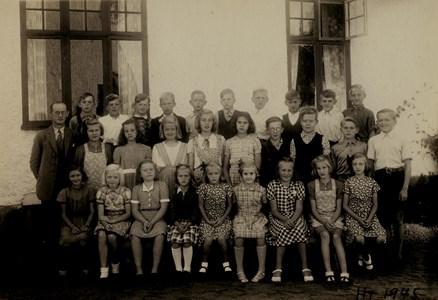 Askome 502, Gamla skolan, år 1945