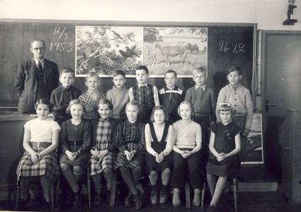 Askome 502, Gamla skolan, år 1953