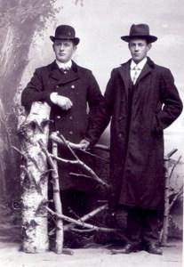 Karl Larsson, Ryssgärde 107 och Johan Bengtsson, Askome 703, Heden