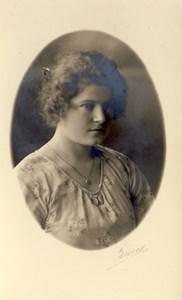 Askome 405,Vrågård. Agnes Olsson, f. Lundell.