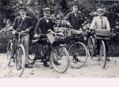 Fyra brevbärare utgår från Vessigebro