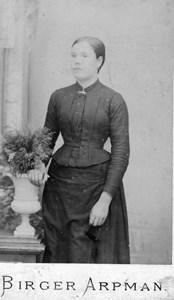 Hanna Karlsson f. Nilsson, lärare i Askome