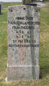 Augusta Larsdotter, Yngered 125, Askome