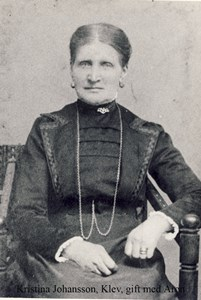 Kristina Johansdotter, Klev 203, Askome.
