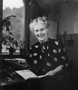 Maria Bengtsson, småskollärarinna i Askome