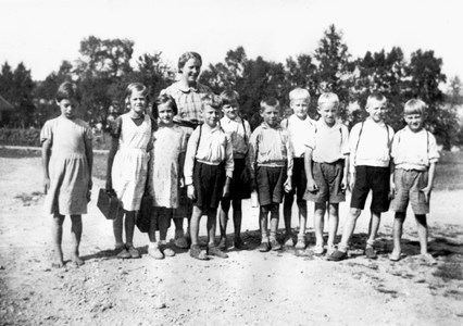 Askome 502, Gamla skolan, 1937