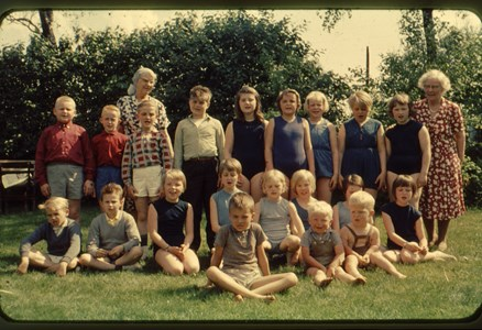 Askome 502, Gamla skolan, vårterminen 1964.