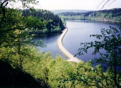 Nya vägen och dammen vid Klevalyckan Skärvered, Askome.