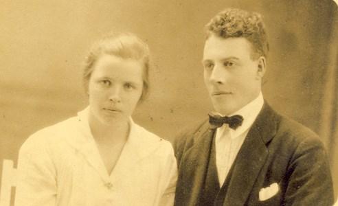Anders och Märta Persson, Klev 110 Askome