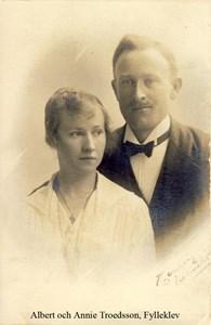 Albert och Annie Troedsson, Fylleklev 103, Askome