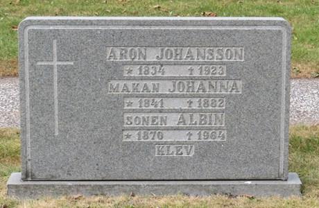 Aron Johansson, Klev 203