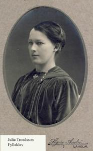 Julia Troedsson, Fylleklev 103