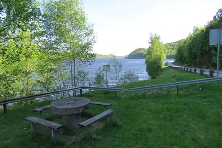 Rastplats vid Klevalyckan Skärvered, Askome.