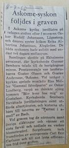 Rudolf Johansson, Lågastorp 101 Hörabacken