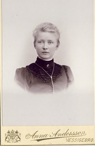 Ellen Johansson, Jutagård, Askome. småskollärare i ölmevalla.