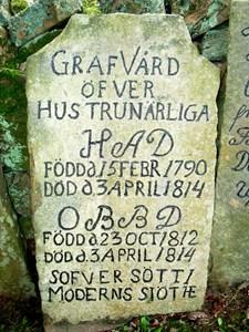 Äldre gravvård