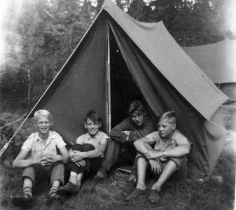 Klubbodlarläger 1955 i Sjönevad