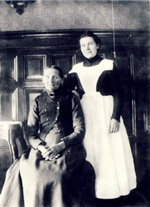 Lovisa Larsdotter och hennes dotter Jenny, Hede 229.
