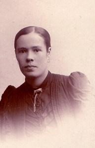Hanna Carlsson, f. Nilsson, lärare i Askome