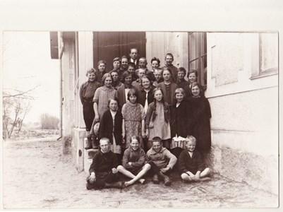 Aspö skola  år 1926