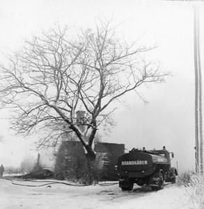 Brandkåren vid Husby Stengård