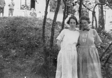 O Engström o Sigrid Andersson