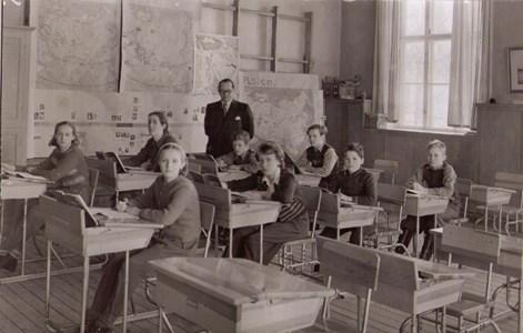 Aspö skola klass 5 år 1948