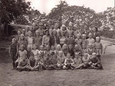Aspö skola klass 1-6 år 1948