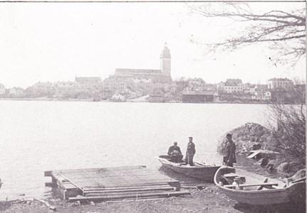 Färjelägret vid Vargholmen