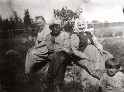 Jenny Engström, Ernst, Johanna och Eva Karlsson