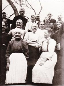 Säby , boende personer omkring 1920