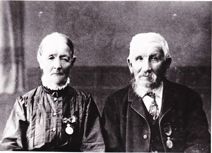 Maria och Petter Andersson, Oppeby