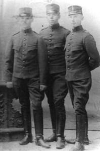 Artillerister från A1, Stockholm.