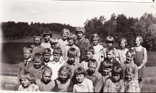 Aspö skola 1933 klass 1-2
