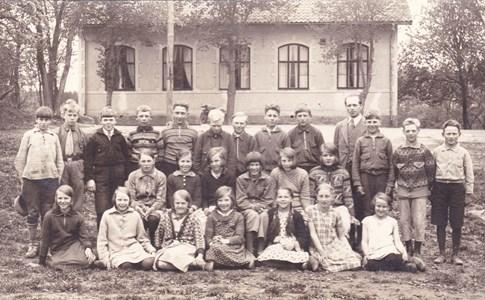 Aspö skola 1932 klass 5-6
