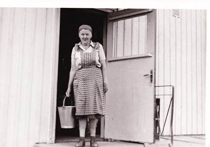 Greta Andersson, Dragsäng