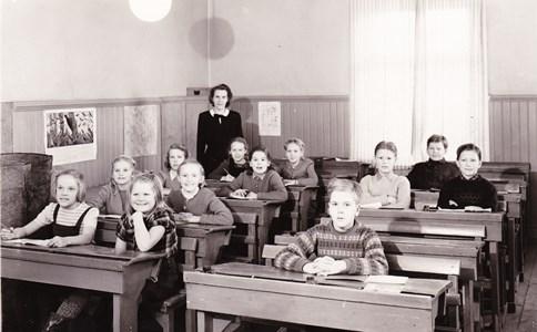Aspö skola klass 3-4 1947