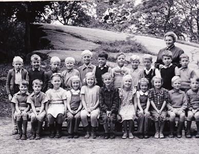 Aspö skola klass 1-2 1948