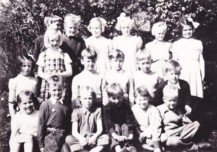 Aspö skola  klass 1-2 1951